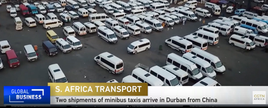 Youtube - mibibus taxis arrive in South Africa